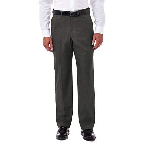Haggar® Premium Stretch Classic Flat-Front Dress Pants