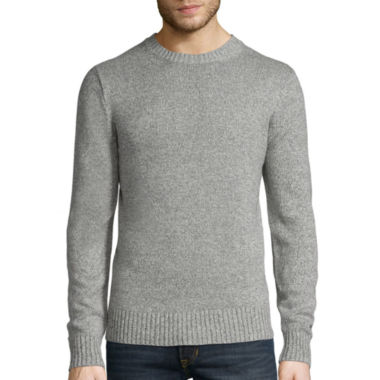 jcpenney.com | St. John's Bay® Long-Sleeve Classic-Fit Crewneck Sweater