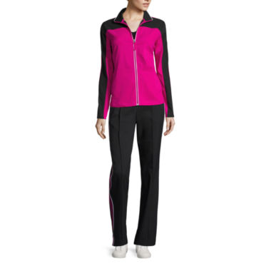 jcpenney.com | Made for Life™ Breast Cancer Tee, Colorblock Jacket or Pintuck Drawstring Pants