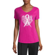 Made for Life™ Short-Sleeve Breast Cancer Tee