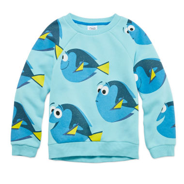 jcpenney.com | Dory Crew Fleece Sweatshirt - Girls