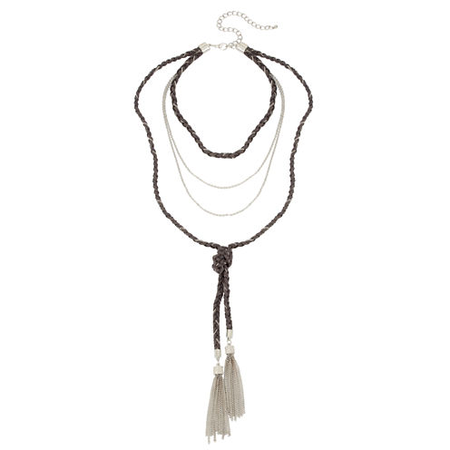 Boutique + Womens Y Necklace