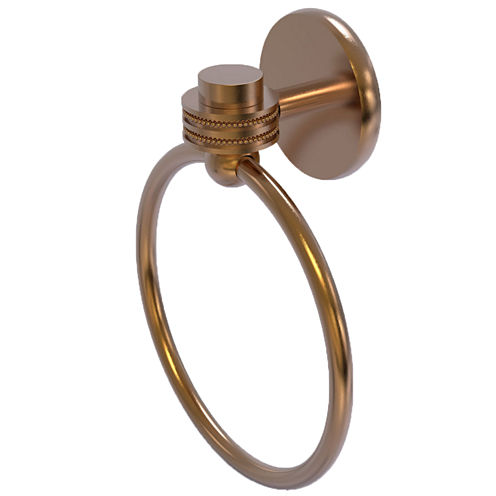 Allied Brass Satelite Orbit One With Dotted Accent Towel Ring