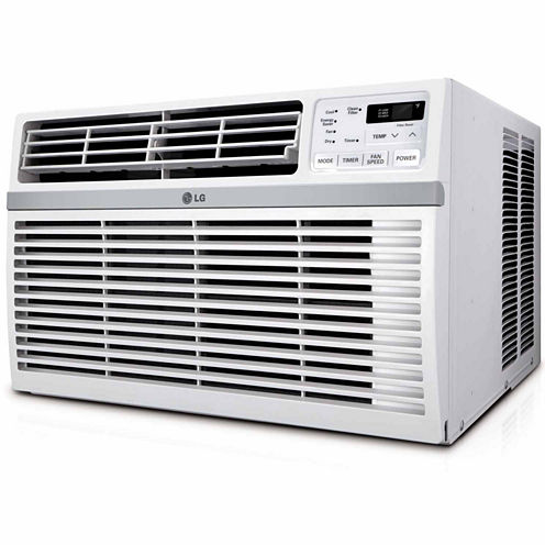 LG 15000 BTU 115V Window-Mounted Air Conditioner with Remote Control