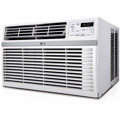 LG 18000 BTU 230V Window-Mounted Air Conditioner with Remote Control