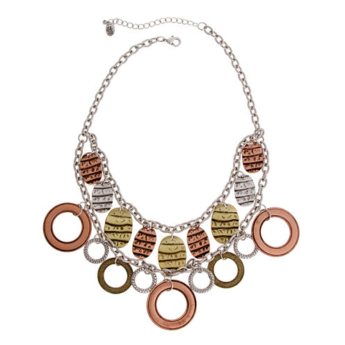 El By Erica Lyons July Tritone Statement Necklace