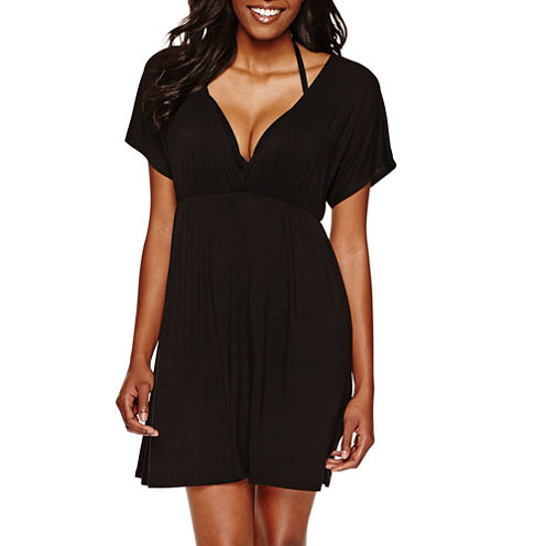 a.n.a Jersey Swimsuit Cover-Up Dress