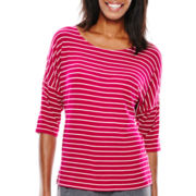 Ambrielle® Elbow-Sleeve Sleep Tee