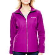 Columbia® Seize the Way Water-Resistant Softshell Jacket