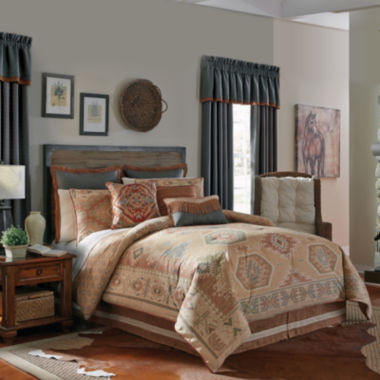 jcpenney.com | Croscill Classics® Tucson 4-pc. Comforter Set & Accessories