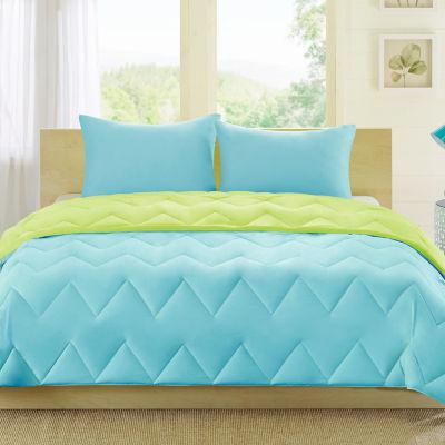 Intelligent Design Zoe Reversible Down Alternative Comforter Set Jcpenney