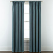 Royal Velvet® Supreme Lined Rod-Pocket/Back-Tab Curtain Panel