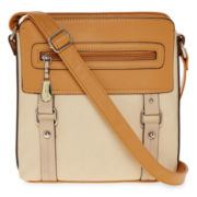 Rosetti® Clued In Top-Zip Crossbody Bag