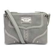 nicole by Nicole Miller® Allie Double-Zip Crossbody Bag