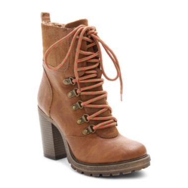 jcpenney.com | UNIONBAY® Lionel Lace-Up Booties