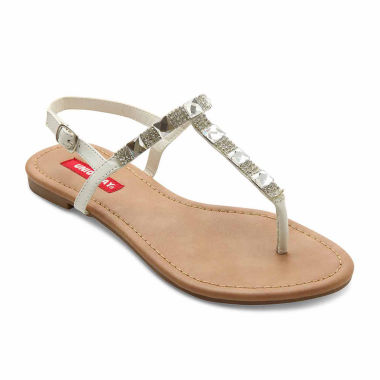 jcpenney.com | UNIONBAY® Peridot Beaded Sling-Back Sandals