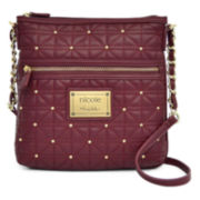 nicole by Nicole Miller® Randy Studded Crossbody Bag