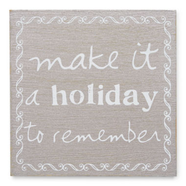 jcpenney.com | Holiday Plaque