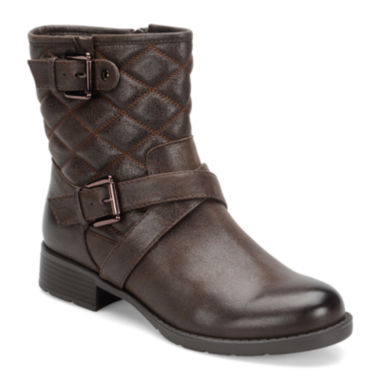 jcpenney.com | Comfortiva Vestry Quilted Ankle Boots