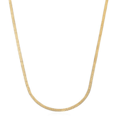 jcpenney.com | Made in Italy 14K Yellow Gold Herringbone Chain