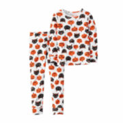 Carter's® 2-pc. Halloween Cotton Pajama Set - Toddler Girls 2t-5t