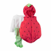 Carter's® 2-pc. Little Strawberry Halloween Costume - Baby Girls newborn-24m