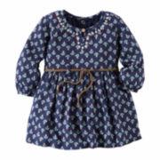 Carter's® 2-pc. Embroidered Dress - Baby Girls newborn-24m