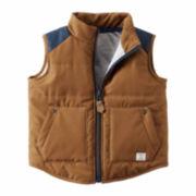 Carter's® Colorblocked Puffer Vest - Baby Boys newborn-24m