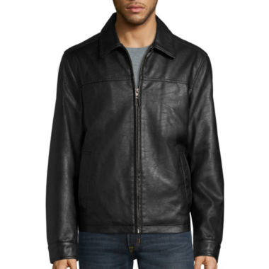 jcpenney.com | Dockers® Faux Leather Laydown Collar