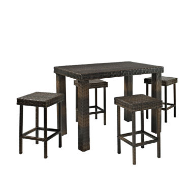 jcpenney.com | Palm Harbor Wicker 5-pc. Patio Dining Set
