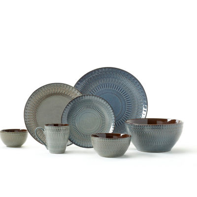 Gourmet Basics By Mikasa Broadway 16-pc. Dinnerware Set  sc 1 st  JCPenney & Gourmet Basics By Mikasa Broadway 16-pc. Dinnerware Set - JCPenney