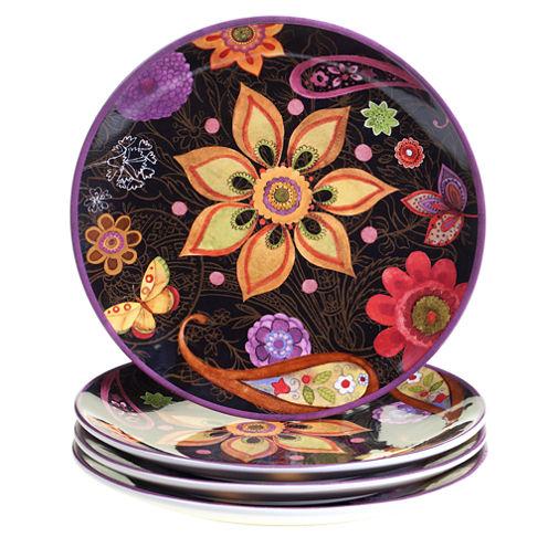 Certified International Coloratura 4-pc. Dinner Plate