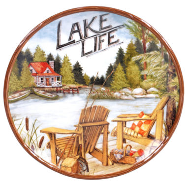 jcpenney.com | Certified International Lake Life Serving Platter