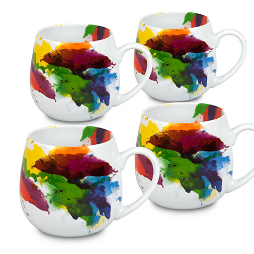 Konitz On Color Set of 4 Snuggle Mugs