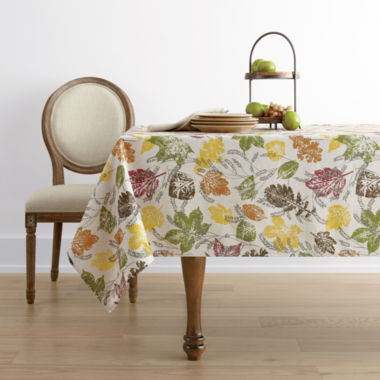 jcpenney.com | JCPenney Home™ Sprawling Leaves Napkins, Placemats or Tablecloth