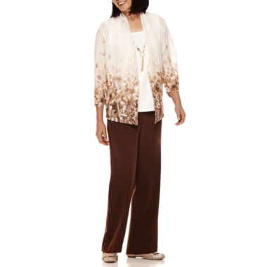 jcpenney.com | Alfred Dunner® Santa Fe Ombré Floral Layered Top or Pants