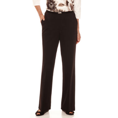 jcpenney.com | Alfred Dunner® Madison Park Pull-On Pants