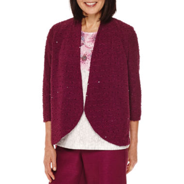 jcpenney.com | Alfred Dunner® Veneto Valley Sequin Boucle Jacket
