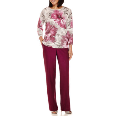 jcpenney.com | Alfred Dunner® Veneto Valley Shimmer Sweater or Pants