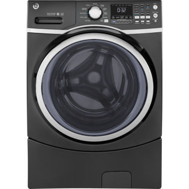 jcpenney.com | GE® ENERGY STAR® 4.5 DOE cu. ft. Capacity Front-Load Washer with Steam