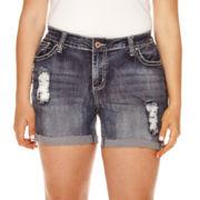 ZCO Destructed Shorts - Plus