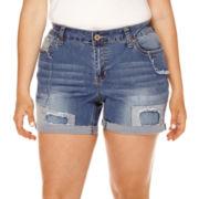 ZCO Patch Shorts - Plus
