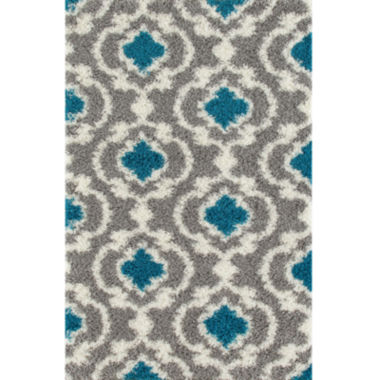 jcpenney.com | World Rug Gallery Florida Ogee Shag Rectangle Rug