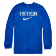 Nike® Long-Sleeve Football Shirt - Boys 8-20