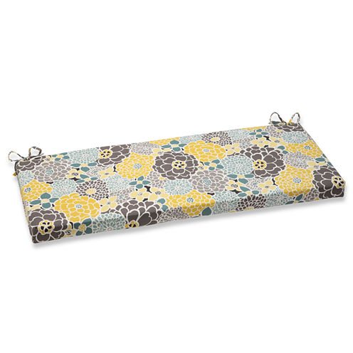 """Pillow Perfect 40"""" Outdoor Lois Bench Cushion"""