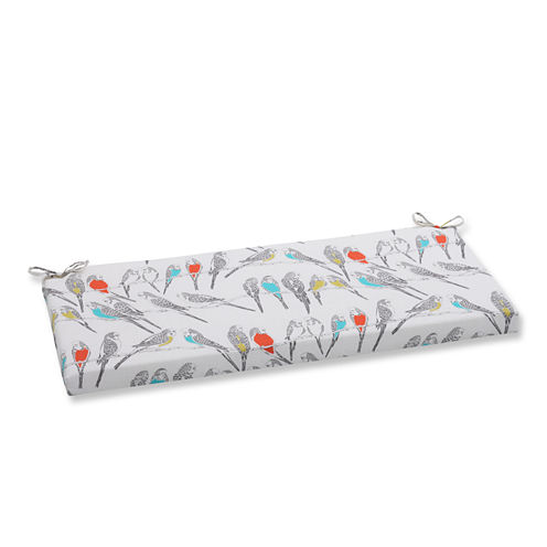 "Pillow Perfect 40"" Outdoor Retweet Bench Cushion"
