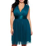 Trixxi Tie-Back Dress