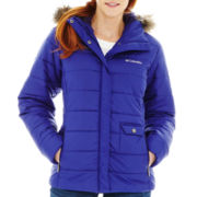 Columbia® 3 Graces Water-Resistant Quilted Jacket