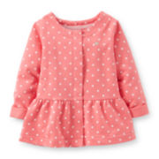 Carter's® Peplum Cardigan - Girls 5-6x