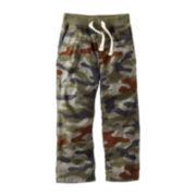 Carter's® Poplin Camo Woven Pants – Boys 2t-4t